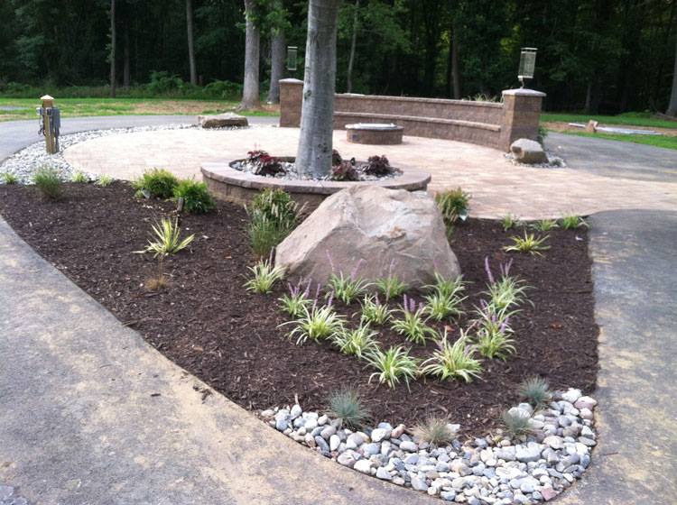 landscape design and installation in crownsville, md