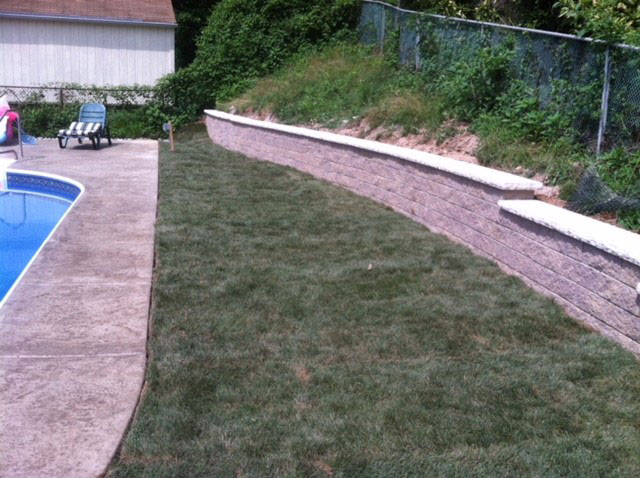 retaining wall installation in odenton, md